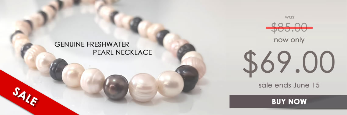Pearl necklace sale
